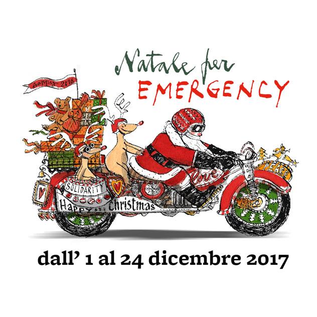 Natale per EMERGENCY - dall'1 al 24 dicembre