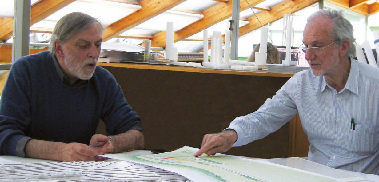 Gino Strada e Renzo Piano