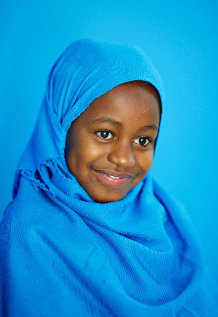 Fatma nel nostro Centro Salam di cardiochirurgia in Sudan