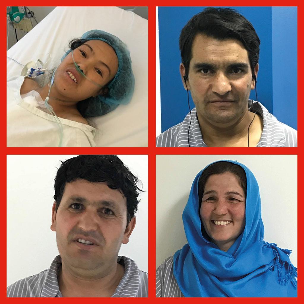 Sherin Gul, Gul Islam, Mohammad Lal, Karima: quattro pazienti afgani operati al cuore al Centro Salam di EMERGENCY in Sudan