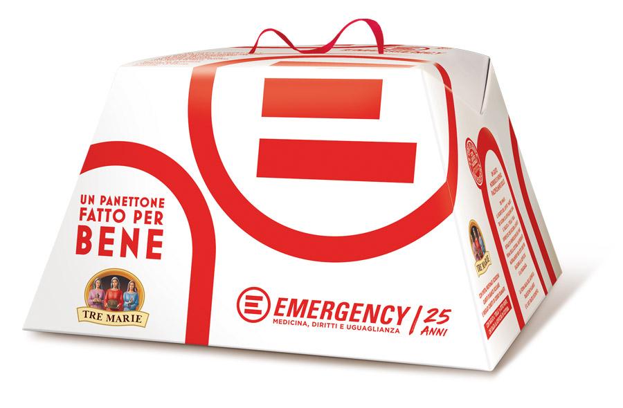 Un panettone fatto per bene - il panettone di EMERGENCY realizzato in collaborazione con Le Tre Marie