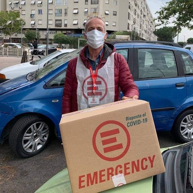 Luca, volontario EMERGENCY roma